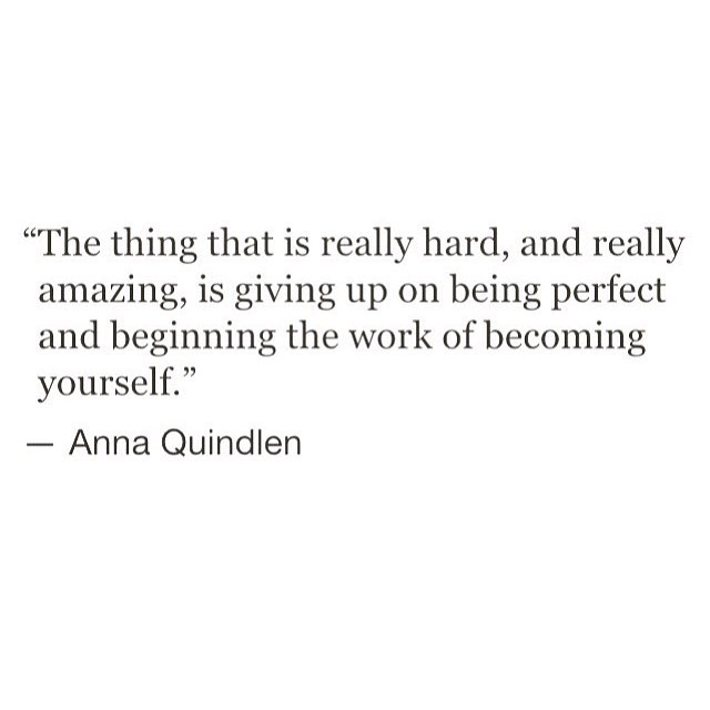 the thing that is really hard and really amazing